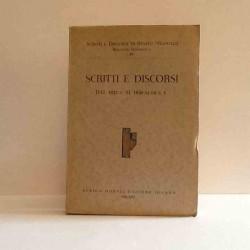 Scritti e discorsi dal 1927-1928