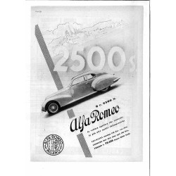 Alfa Romeo Milano 2500 S.