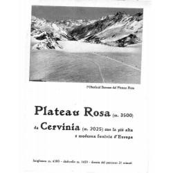 Plateau Rosa da Cervinia