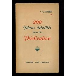 200 plans detailles pour la Predication