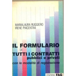 Il formulario di tutti i contratti pubblici e privati
